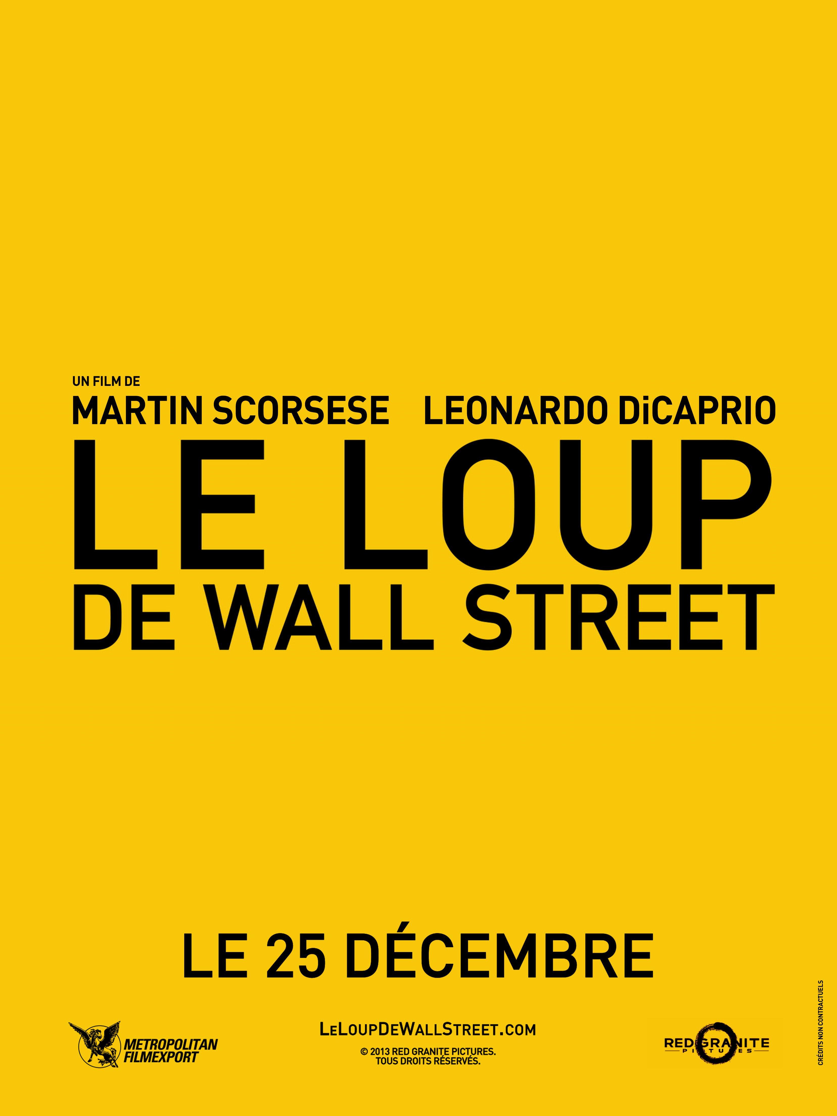Affiches posters et images de le loup de wall street 2013 - Le loup de wall street film ...