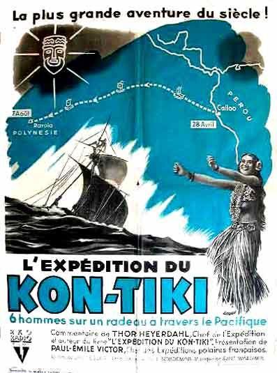 L Expédition Du Kon Tiki Documentaire 1950 Senscritique