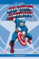 Couverture 1964-1966 - Captain America : L'Intégrale, tome 1