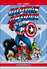 Couverture 1967-1968 - Captain America : L'Intégrale, tome 2