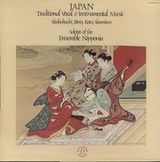 Pochette Japan: Traditional Vocal & Instrumental Music