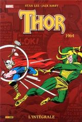 Couverture 1964 - Thor : L'Intégrale, tome 6