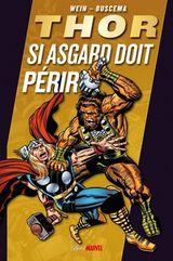 Couverture Thor : Si Asgard doit périr