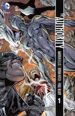 Couverture The Authority, Volume 1
