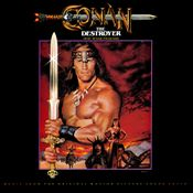 Pochette Conan the Destroyer (OST)