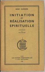 Couverture Initiation et Réalisation Spirituelle