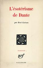 Couverture L'ésotérisme de Dante
