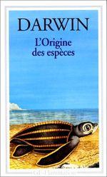 Couverture L'Origine des espèces