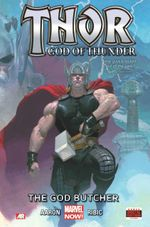 Couverture The God Butcher - Thor: God of Thunder, tome 1