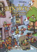 Couverture Les superhéros injustement méconnus