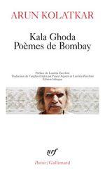 Couverture Kala Ghoda, poèmes de Bombay