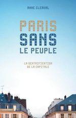 Couverture Paris sans le peuple