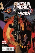 Couverture Captain America & Black Widow