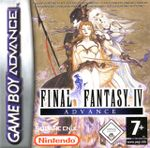 Jaquette Final Fantasy IV Advance
