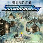 Jaquette Final Fantasy VII Snowboarding