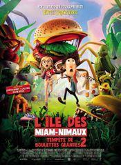 Affiche L'Île des Miam-Nimaux - Tempête de boulettes géantes 2