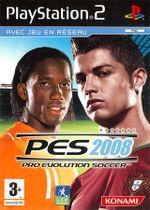 Jaquette Pro Evolution Soccer 2008