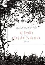 Couverture Le festin de John Saturnal