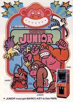 Jaquette Donkey Kong Jr.