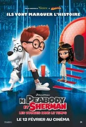 Affiche M. Peabody et Sherman : Les Voyages dans le temps