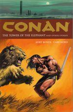 Couverture La Tour de l'Éléphant - Conan, tome 3