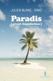 Couverture Paradis (avant liquidation)