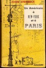 Couverture Un Américain à New-York et à Paris
