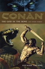 Couverture The God in the Bowl and Other Stories - Conan, tome 2
