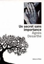 Couverture Un secret sans importance