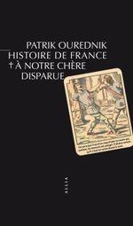 Couverture Histoire de France, à notre chère disparue