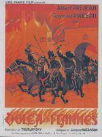 Affiche Volga en flammes