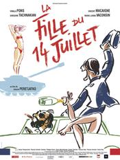 Affiche La Fille du 14 juillet