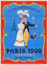 Affiche Paris 1900