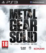 Jaquette Metal Gear Solid : The Legacy Collection