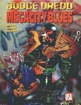 Couverture Judge Dredd : Megacity Blues
