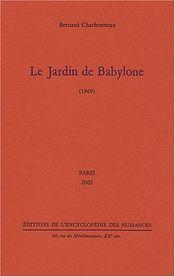 Couverture Le jardin de Babylone