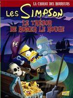 Couverture Le trésor de Homer le rouge - Les Simpson - La cabane des horreurs, tome 4