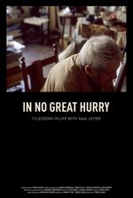 Affiche In No Great Hurry