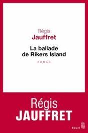 Couverture La Ballade de Rikers Island