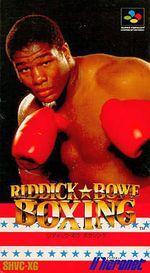 Jaquette Riddick Bowe Boxing
