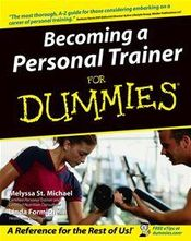Couverture Becoming a Personal Trainer For Dummies