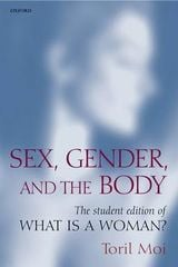 Couverture Sex, gender and the body