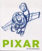 Couverture Pixar, 25 ans d'art et d'animation