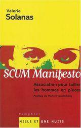 Couverture Scum manifesto