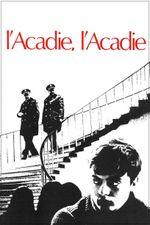 Affiche L'Acadie, l'Acadie