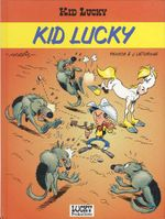 Couverture Kid Lucky, tome 1