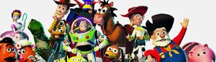 Cover Toy Story et ses références cinématographiques.