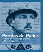 Couverture Paroles de poilus : lettres de la Grande Guerre