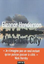 Couverture Alphabet city