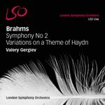 Pochette Symphony no. 2 / Variations on a Theme of Haydn (Live)